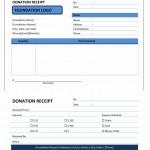 Donation Receipt