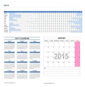 2015 Calendar Templates for Microsoft Word