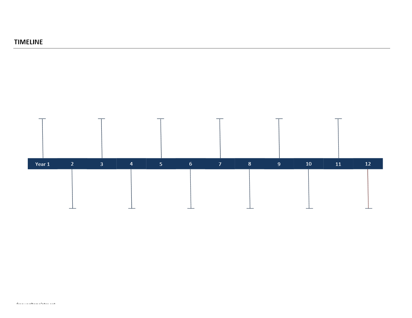 Timeline template for Timline template