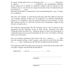 Sales Commission Agreement Template | Freewordtemplates.net