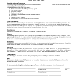 Drop Shipping Contract Template