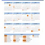 2016 Canada Public Holidays Calendar