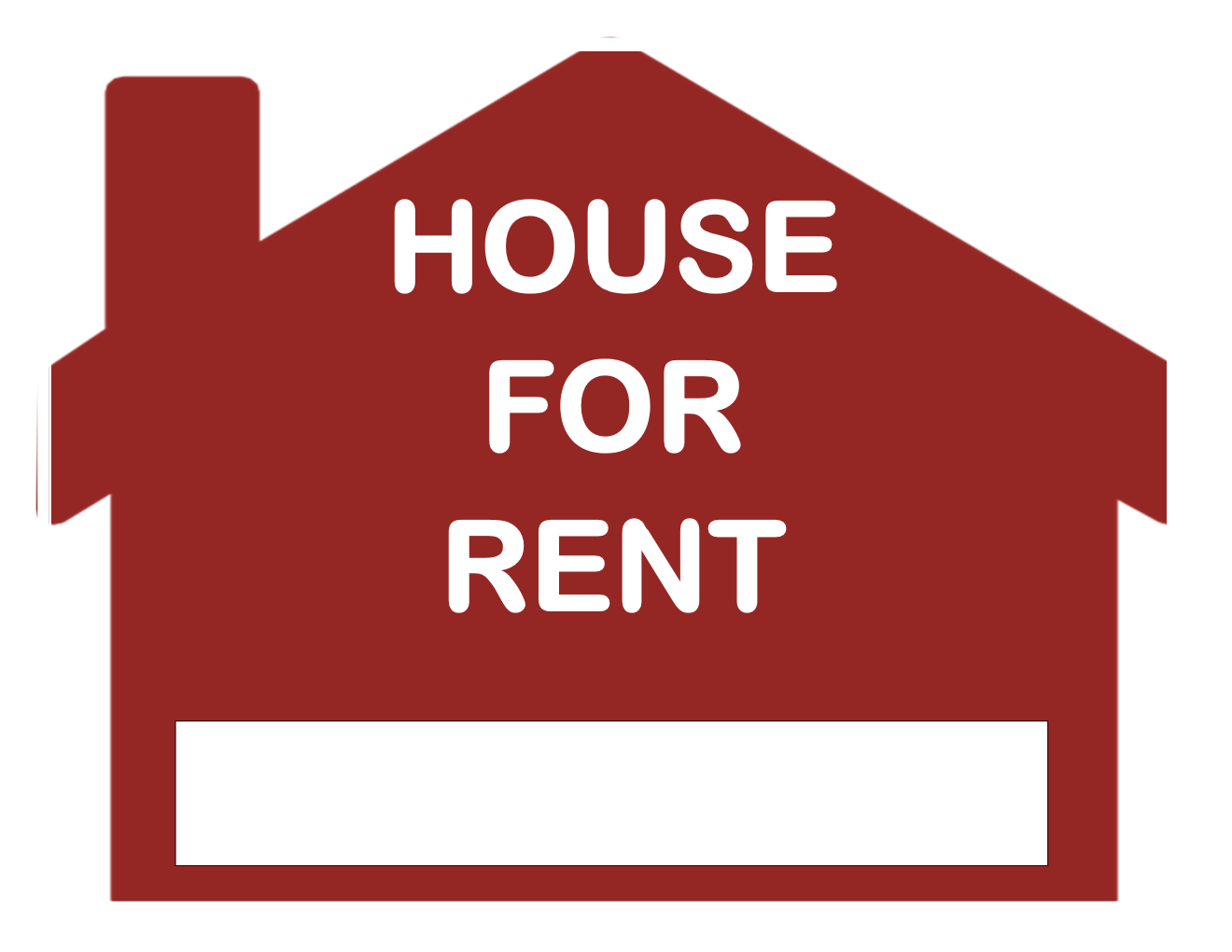 Nice For Rent Sign Template Within House For Rent Template