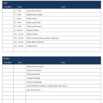 Family Household Chores Checklist