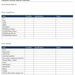 Vacation Home Rental Checklist