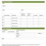 Tour and Travel Booking Form Template