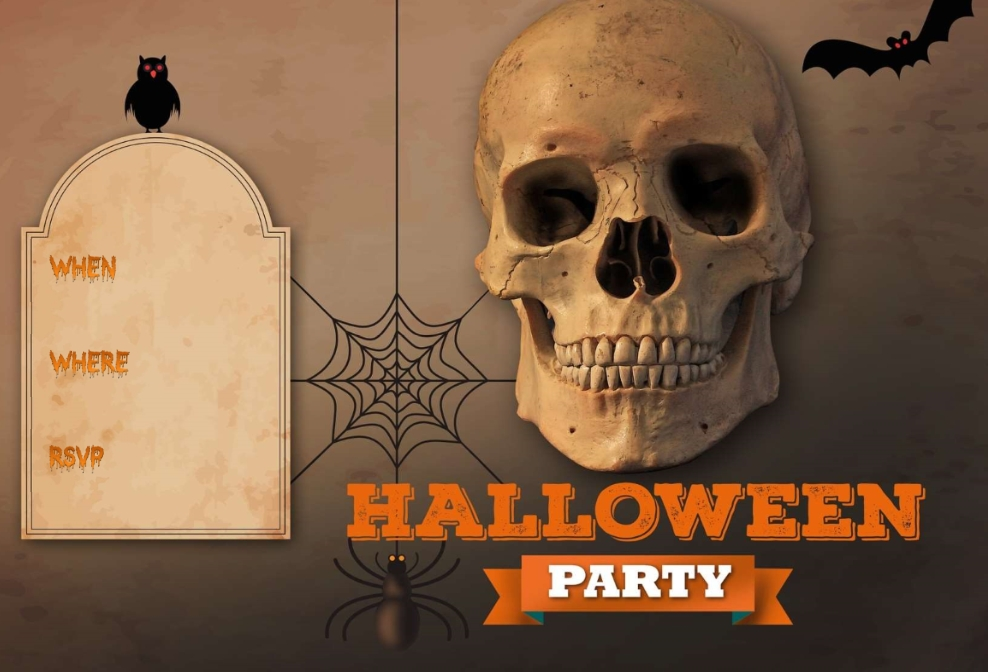 Halloween Party Invitation Word Template