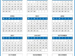 microsoft word calendars