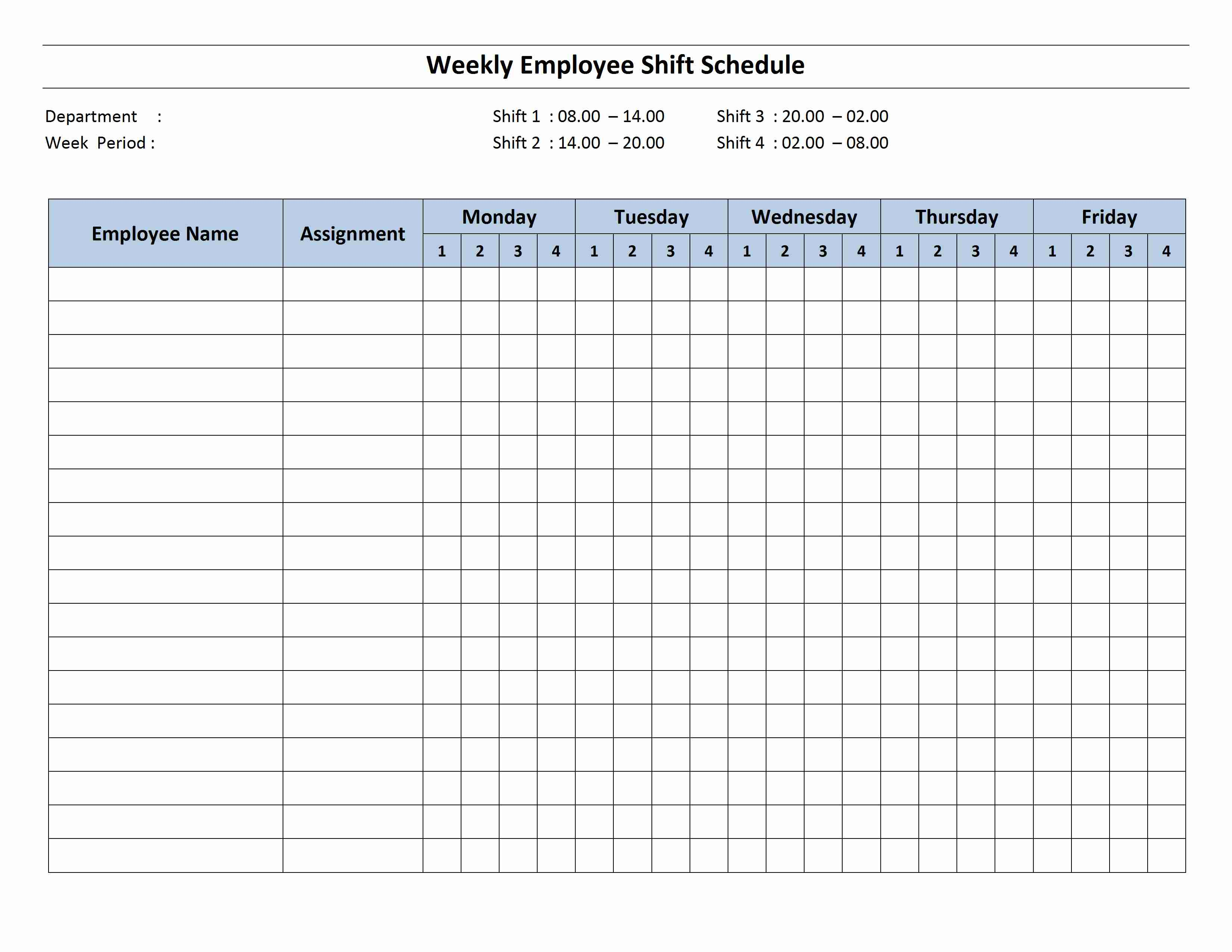 shift handover template word
