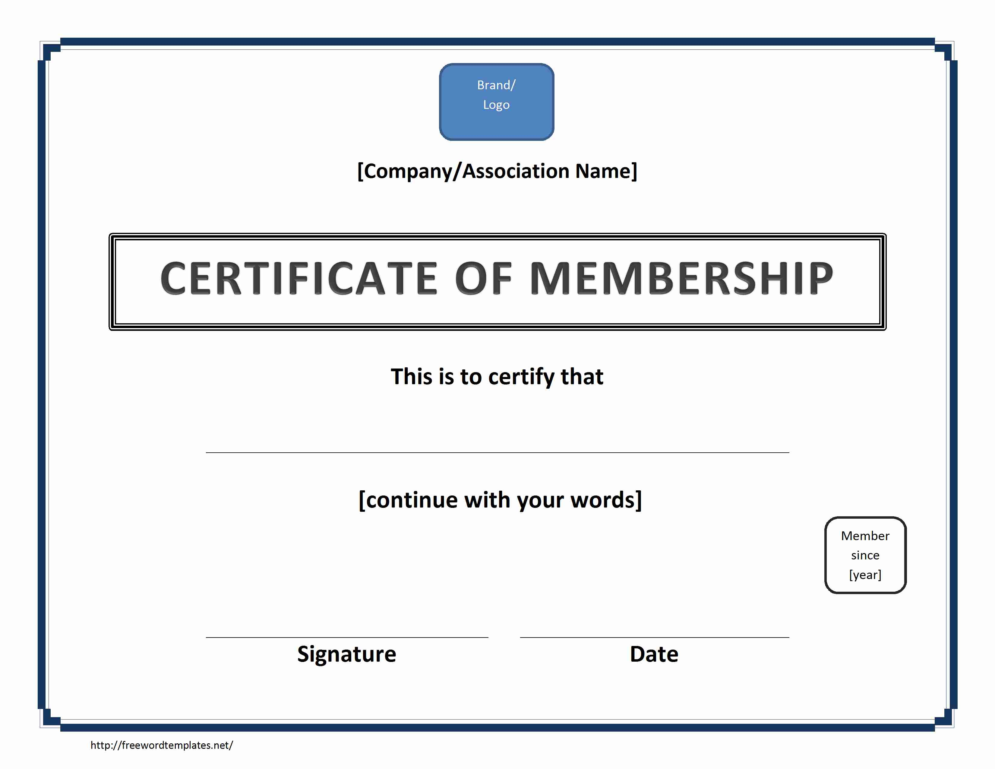 Certificate Archives Freewordtemplates