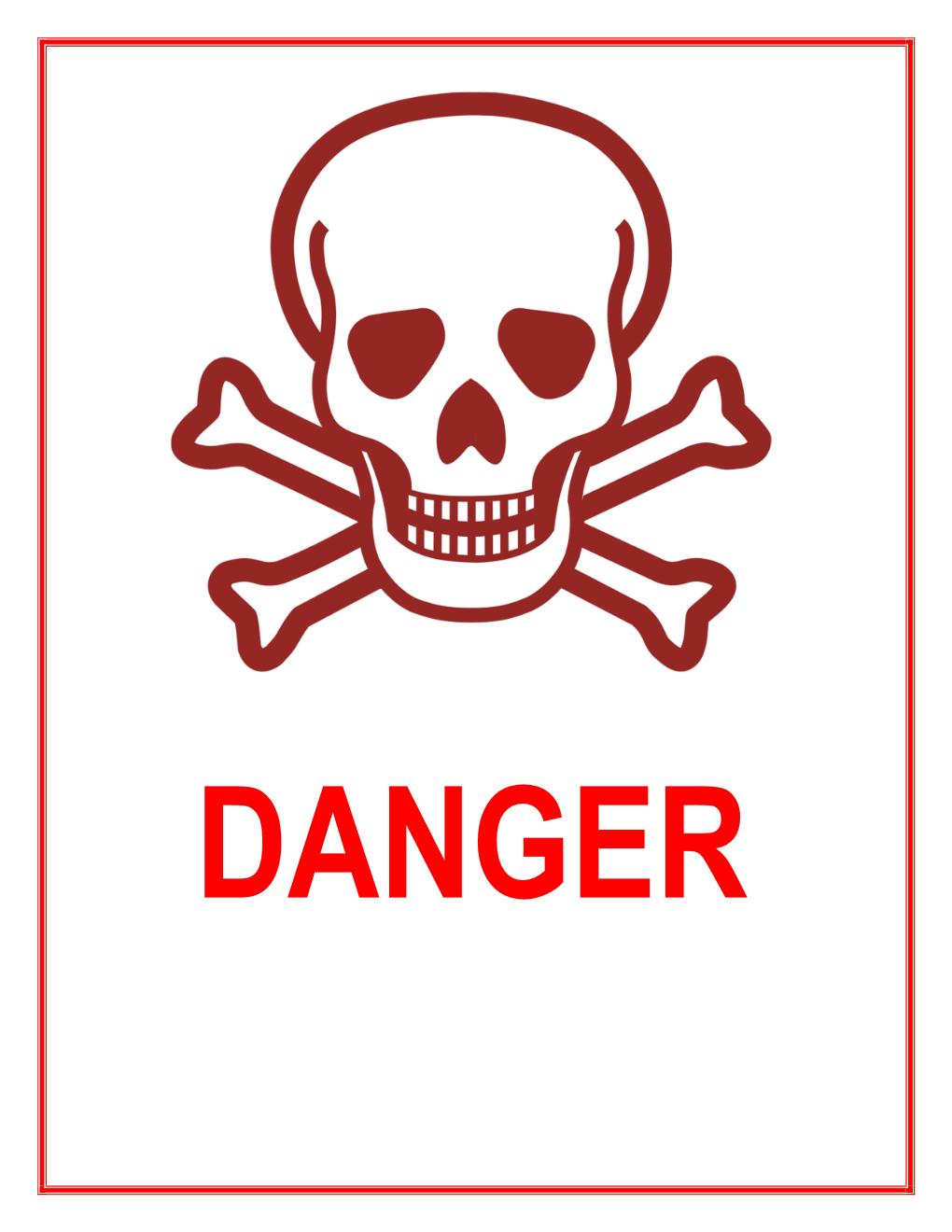 Danger Sign Template