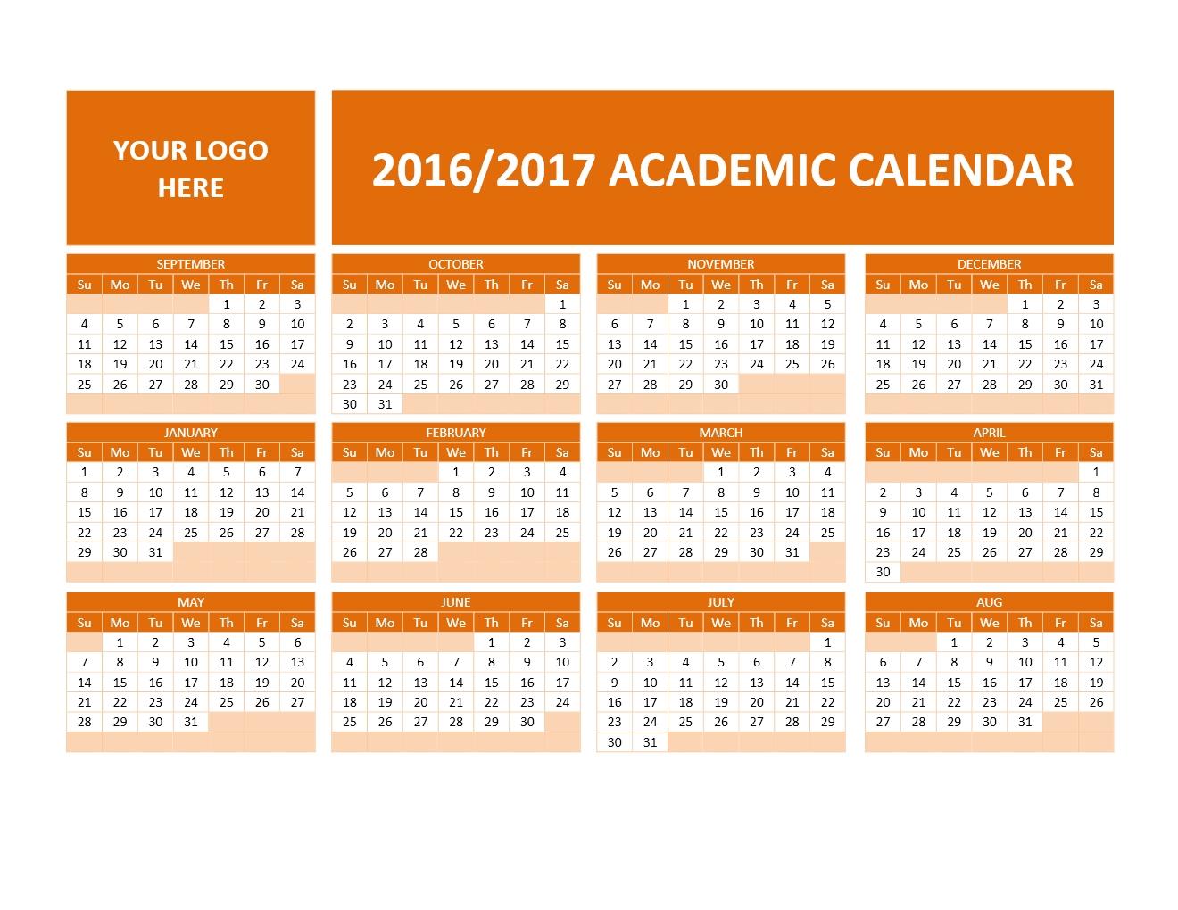 2016 2017 School Calendars