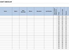 Word Checklist Template | Checklist Archives Freewordtemplates Net