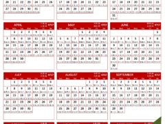 chinese new year calendar Archives | Freewordtemplates net